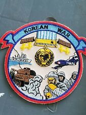 1950-53 Kw Korea War Army Navy Marine Veterans Service Commemorative Patch
