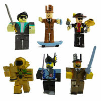 6pcs/set Roblox Figure 2018 7cm PVC Game Figuras Roblox Boys Toys for Children