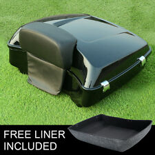 Chopped Tour Pak Trunk Backrest Pad For Harley Touring Road Glide King 2014-2017