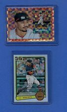 MOOKIE BETTS 2017 DONRUSS LOT (2) /304 & /999 RED SOX