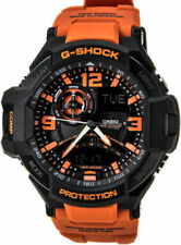 G-Shock  GA1000-4A G-Aviation Twin Sensor Black/Orange