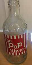 The Pop Shoppe 10 Ounce Bottle, Oregon Beverage Services, Portland, Oregon, 1976