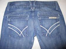 William Rast Jeans Savoy Regular Rise Trousers Flare Sz 25 (Run Big)