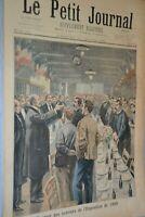 Le petit journal supplément illustré / 23 janvier 1898 / Banquet des ouvriers