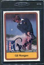 1981 Donruss Golf Gil Morgan #28 Signed Autograph Auto