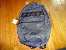 Gap Nylon Bookbag Laptop Sleeve 17 inch Backpack Travel Bag Navy Blue NWT
