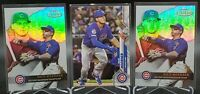 Nico Hoerner RC 🔥 Rookie Lot x3 2020 Topps Series 1 & Gold Label Class 1x2 Cubs