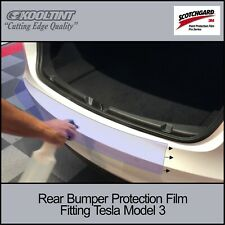 3M Scotchgard Pro Rear Bumper Protection Film fitting 2017-2019 Tesla Model 3