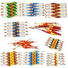 10 pièces Pêche flotteur Kit pour matériel de à la carpe Eau mer douce