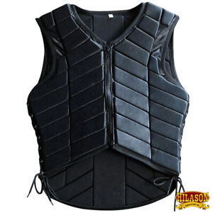 Equestrian Horse Riding Vest Safety Protective Hilason Adult Eventing U-2-VX