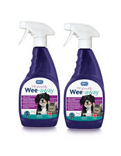 More details for rspca wee away probiotic  2 x 500ml  pet friendly stain & odour remover