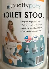 100% Original Brand New squatty potty toilet stool