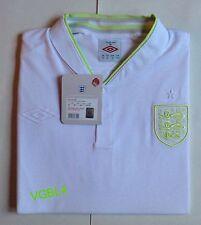 Inglaterra Umbro Elegante Manga Larga Camiseta de Fútbol BNWT
