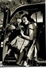 Girl & Car Bellezze e Motori Dolce Vita Automobile PC Circa 1960 Real Photo 6