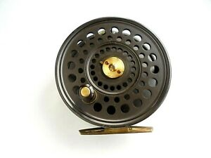 "Hardy Golden The St Aiden 3 3/4"" Trout Fly Reel"