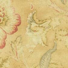 Braemore ODESSA Floral SUEDE Home Decor Drapery Sewing Fabric BTY