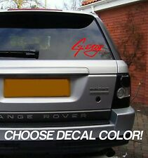 "G-Eazy 8"" Vinyl Sticker Decal - Choose Color! bumper car window laptop music"