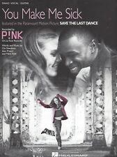 """PINK """"YOU MAKE ME SICK"""" SHEET MUSIC-PIANO/VOCAL/GUITAR-BRAND NEW ON SALE-RARE!!"""