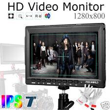 "Feelworld FW759 7"" Slim 1280x800 400cd/m² Video HD Field Monitor HDMI DSLR"
