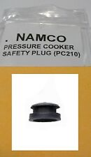 Namco Pressure Cooker SAFETY RELEASE PLUG (PC210)(all rubber extra safe) NEW