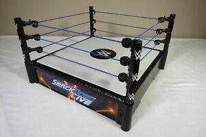 2010 WWF WWE Wrestling Smack Down Wrestling Ring Spring Loaded Smackdown