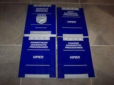 2002 Dodge Viper Shop Service Repair Manual Rt/10 Gts Coupe Convertible 8.0L V10