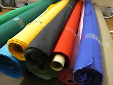 10mts GOOD QUALITY  150CMS WIDE  TWILL FABRIC 1000'S OF USES 18 COLOURS!!!