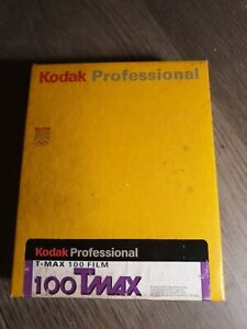Kodak Tmax 100 4x5in Film Box Of 50