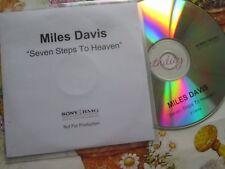 Miles Davis – Seven Steps To Heaven SONY Music catalogue Promo UK CD Album