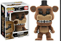 Funko POP! FNAF Friday Night At Freddies #106 FLOCKED FREDDIE *CASE FRESH*