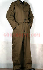 WWII US Army 2st Pattern Olive Green HBT Tanker Coverall 42R (M)