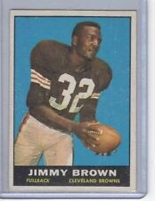1961 TOPPS #71 JIM JIMMY BROWN CLEVELAND BROWNS FOOTBALL CARD NICE CARD