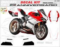 "Kit adesivi design Anniversario Moto Ducati Panigale 1299/959 ""V423"""