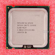 Intel Core 2 Extreme QX9650 3 GHz Quad-Core CPU Processor SLAWN LGA 775
