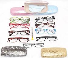 CLEARANCE,  Ladies Lot 2 READING EYE GLASSES,  Cases, Repair Kit, Women +3.00