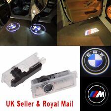Cree LED Luz de puerta de Coche Proyector Sombra Charco Cortesía Lámpara de logotipo láser Para BMW