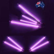 "4PCS 13"" Purple CCFL Cold Cathode Under Car Neon Kit Interior Exterior Lights"