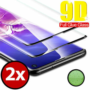 2x 9D Schutzglas SAMSUNG | S8 S9 S10 S20 PLUS NOTE 10 | Schutzfolie 9H ECHT GLAS