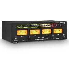 Four Analog Vu Metersound Level Indicator Db Panel Pro Audio Spectrum Analyzer
