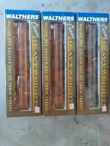 LOT: NEW Walthers Classic Heavyweights Pullman Southern Pacific Set of 3 Cars