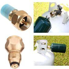 Propane Adaptateur pour Réservoir Gaz Propane Adapter Solid Brass Regulator AAAA