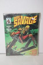 DOC SAVAGE Man of Bronze Battles The Inferno Scheme 1975 Magazine #3 Comic Book