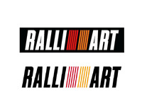 Vinyl Decal Sticker For Ralliart Logo Compatible With Mitsubishi Lancer EVO JDM