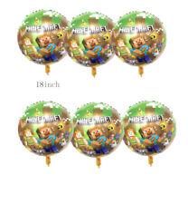 6 piece Minecraft balloons 18
