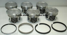 60 Jeep Cherokee 4.0//242 Sealed Power Cast Pistons+MOLY Rings Kit 1987-95