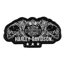 HD Patch Skull One Harley Davidson Aufnäher Badge Kutte