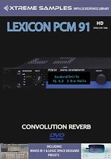 XTREME samples Lexicon PCM 91 HD Reverb impulsi response Library