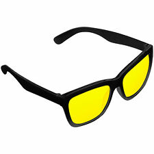 """PEARL Kontrastverstärkende Nachtsicht-Brille """"Night Vision"""" im Retro-Look"""