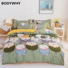 2020 summer bedding set geometric duvet cover flat modern bedding stripe AB home