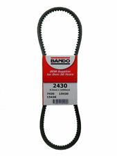 Accessory Drive Belt-RPF Precision Engineered Raw Edge Cogged V-Belt BANDO 2430